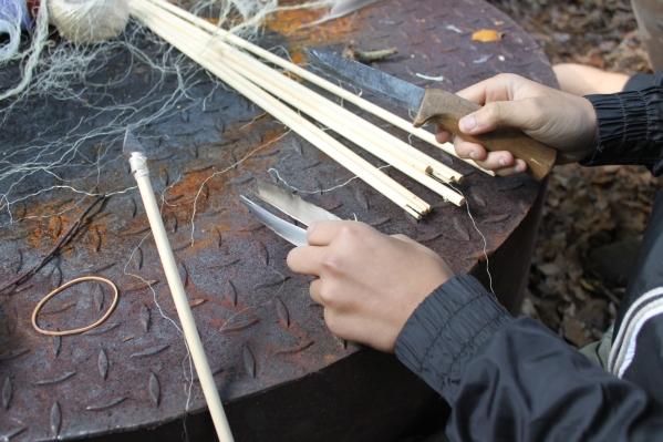 012 pijlen maken